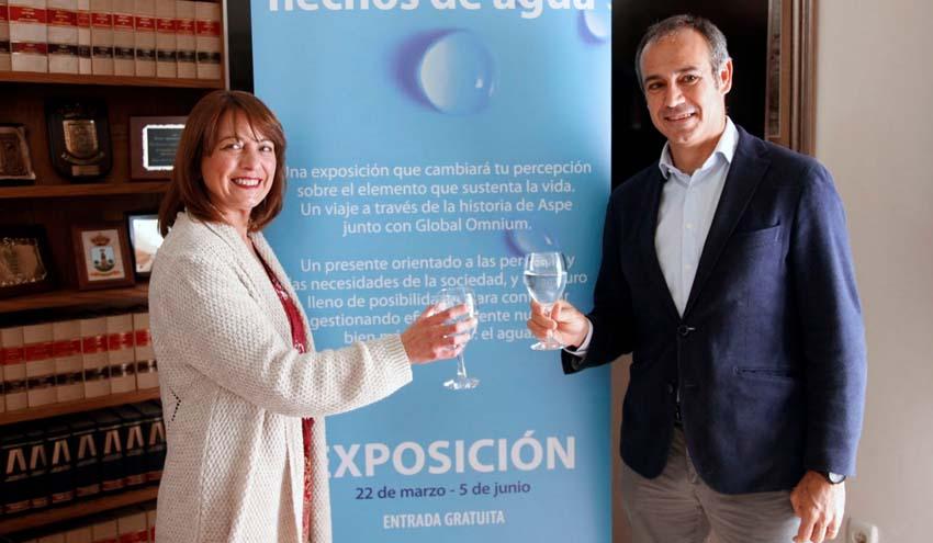 'Aspe, hechos de agua', una exposición para divulgar el patrimonio hidráulico del municipio alicantino