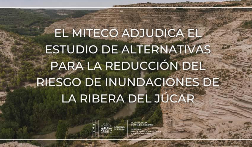 Reducción del riesgo de inundaciones de la Ribera del Júcar