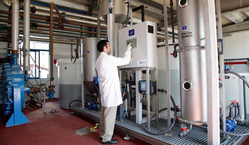 DAM avanza en el proyecto SAVING-E que permite autoabastecer energéticamente las depuradoras