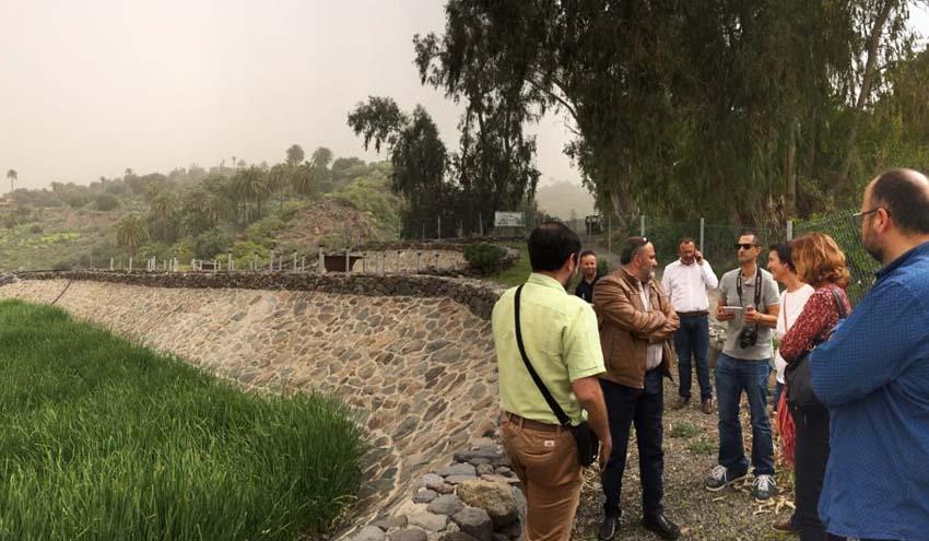 El ITC colabora con el Ayuntamiento de El Rosario para impulsar la depuración natural en el municipio