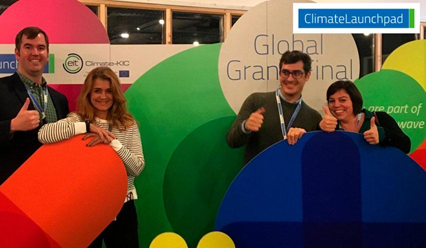 La solución para desalinización a bajo coste BioForward participa en la final internacional de ClimateLaunchpad