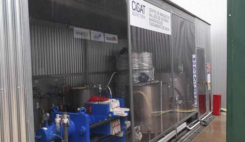 Cigat Biofactoría valida dos tecnologías para obtener recursos de alto valor añadido de las corrientes residuales