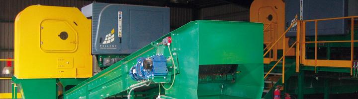Pellenc ST instala sus separadores Mistral 2G de doble válvula en la planta de envases de Valsequillo en Málaga