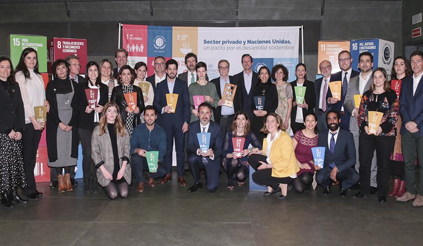 La Red Española del Pacto Mundial distingue 18 proyectos innovadores por su contribución a los ODS