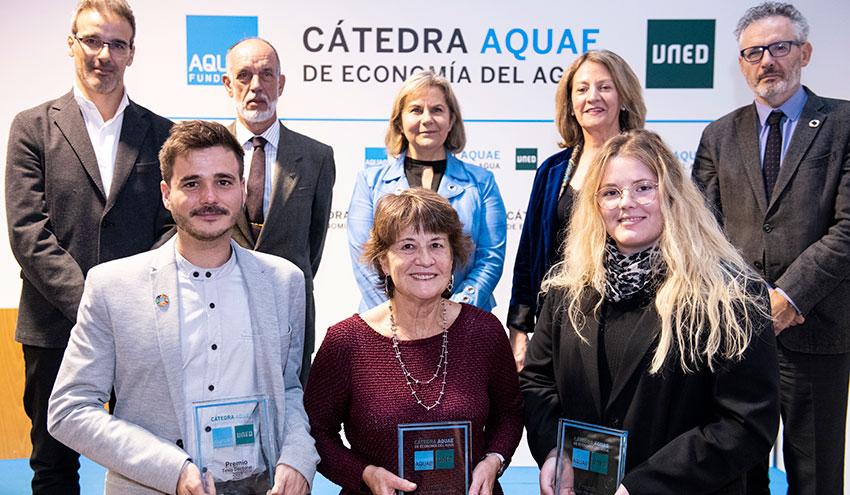 Los Premios Cátedra Aquae valoran los mejores trabajos de investigación en torno al agua