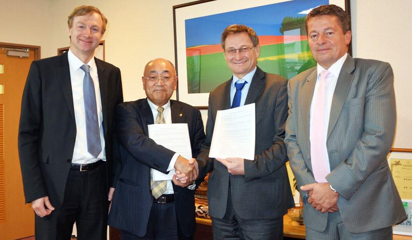 Lindner-Recyclingtech refuerza su presencia en Japón