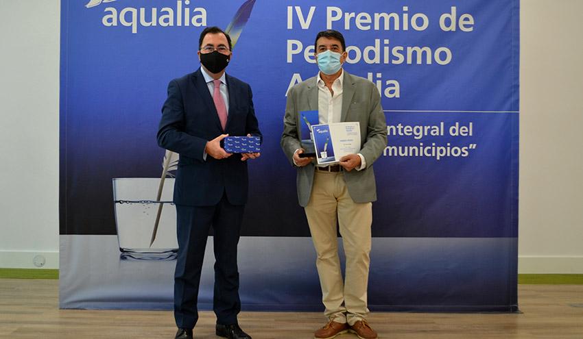 """Un reportaje que pone en valor la segunda """"vida"""" del agua se lleva el IV Premio de Periodismo Aqualia"""