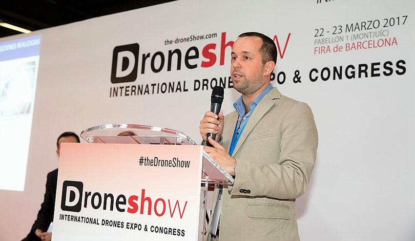 SUEZ Spain participa con su servicio de inspección con dron en The DroneShow