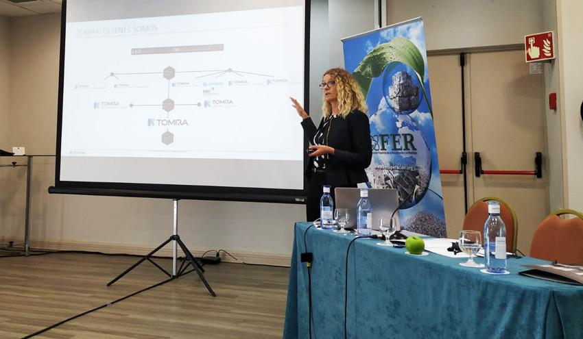 TOMRA Sorting Reycling participa en una jornada sobre gestión de residuos electrónicos de la FER