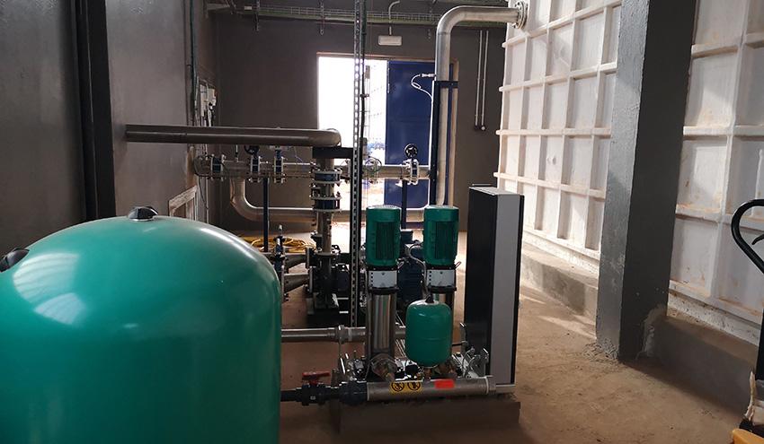 Incatema comienza las pruebas de funcionamiento de potabilizadora de Kédougou