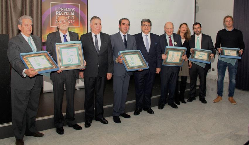 Recyclia reconoce a la Fundación CONAMA y la Diputación de Burgos por su labor en favor del reciclaje