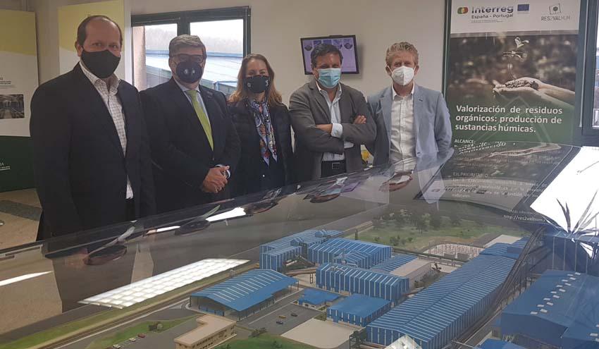 Recyclia y Ecomar visitan el Complejo Medioambiental de Sogama en Cereceda