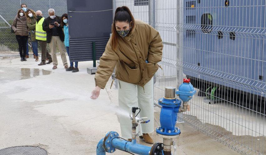 Tàrbena, la primera obra que usa energía fotovoltaica para el abastecimiento de agua potable